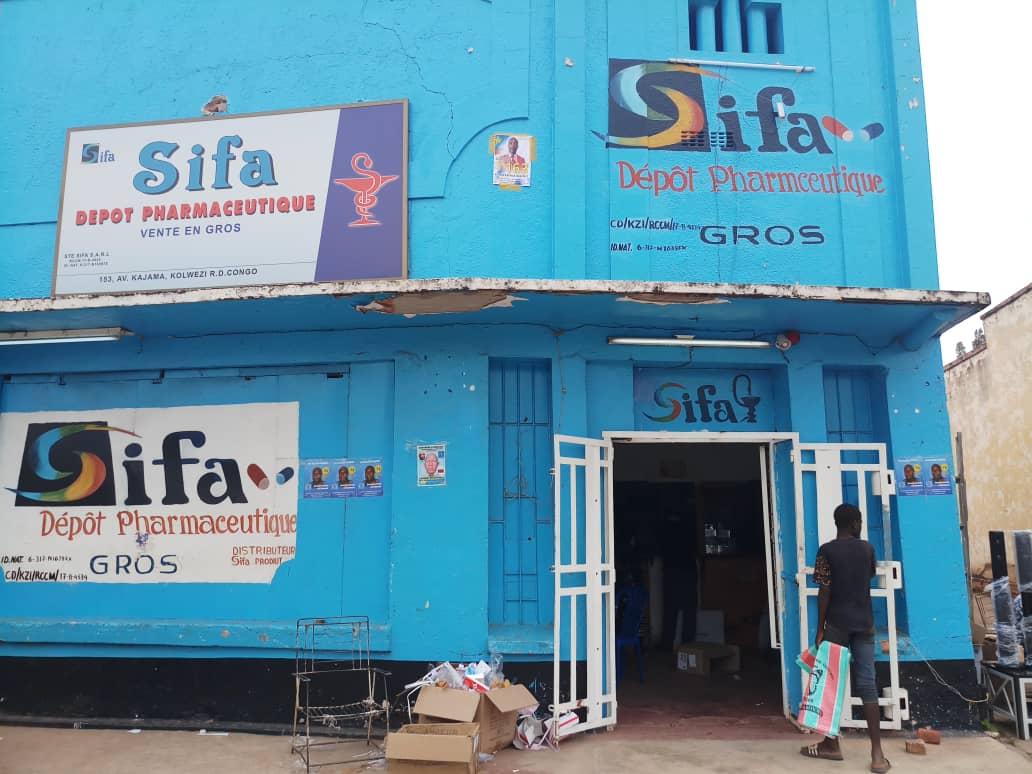 Sifa Pharma Kolwezi | SIFA Congo